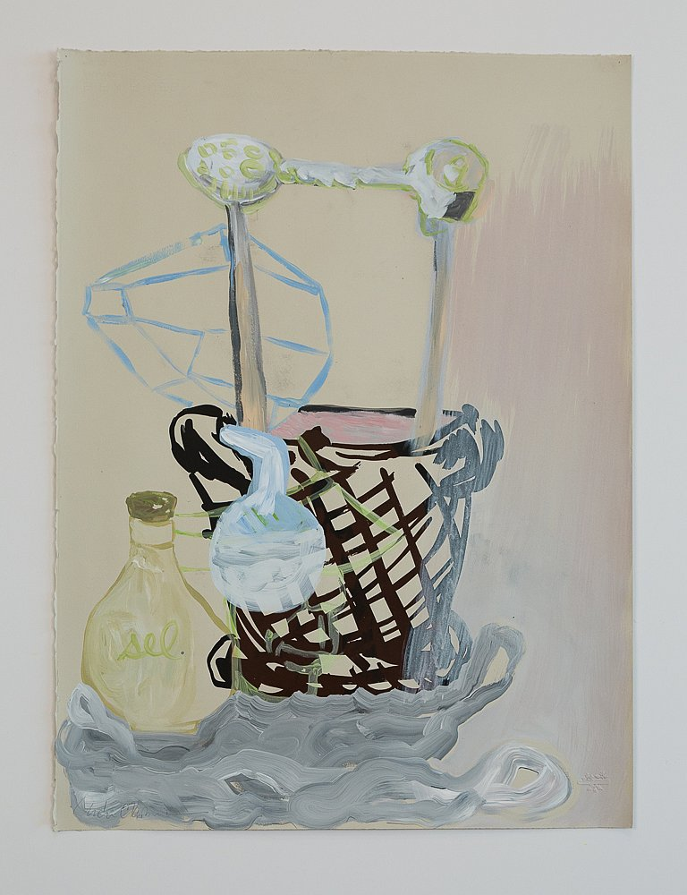 Drawing Inventory: Untitled (Salted Still Life)