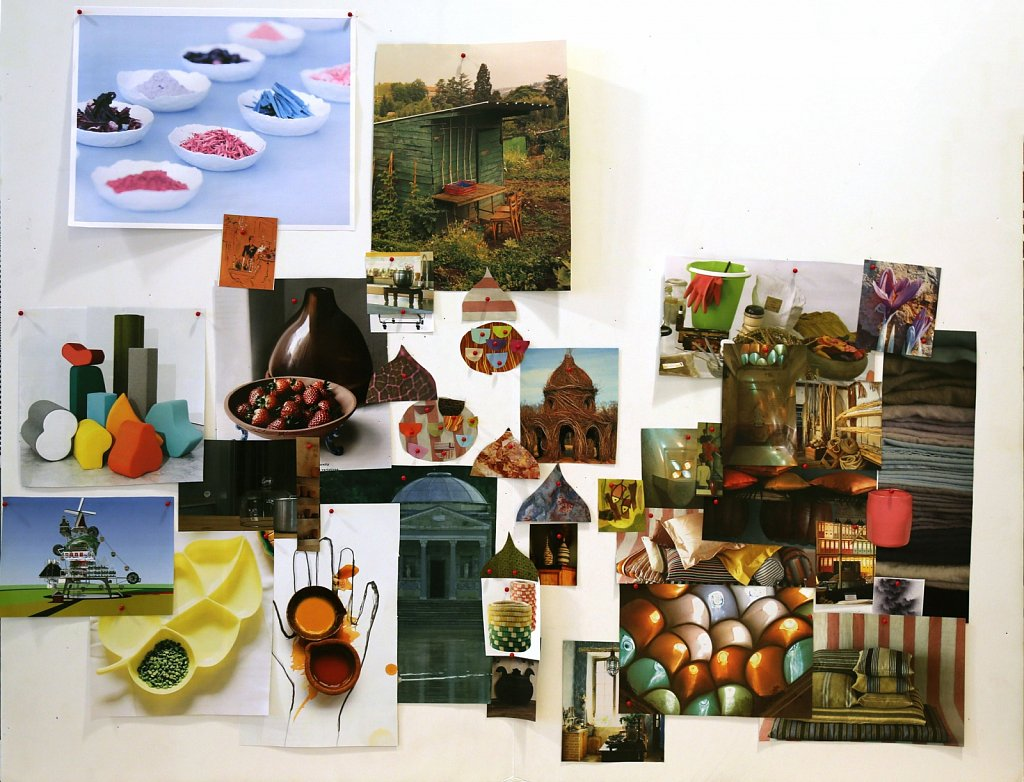 "Mood Board ""Pandemic Plating"""