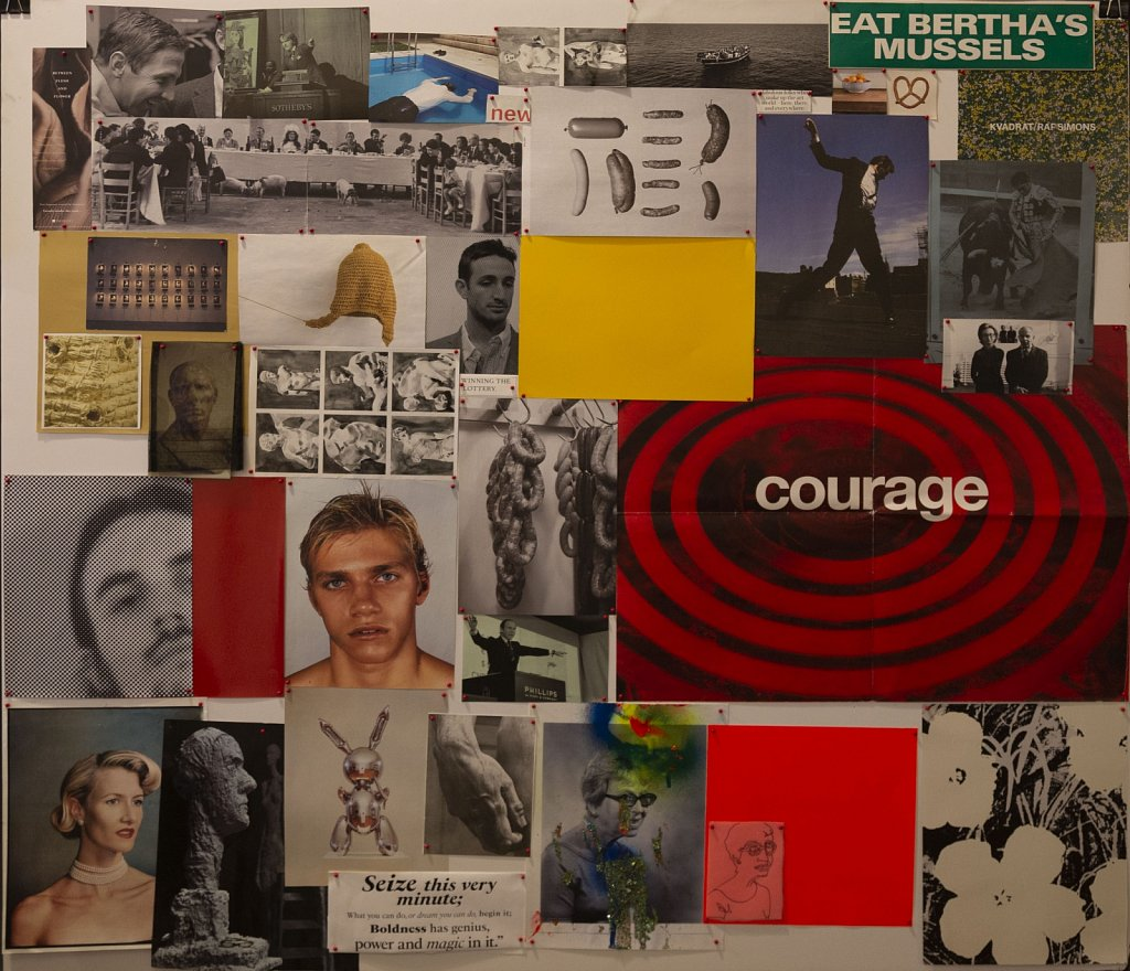 "Mood Board ""Courage"""