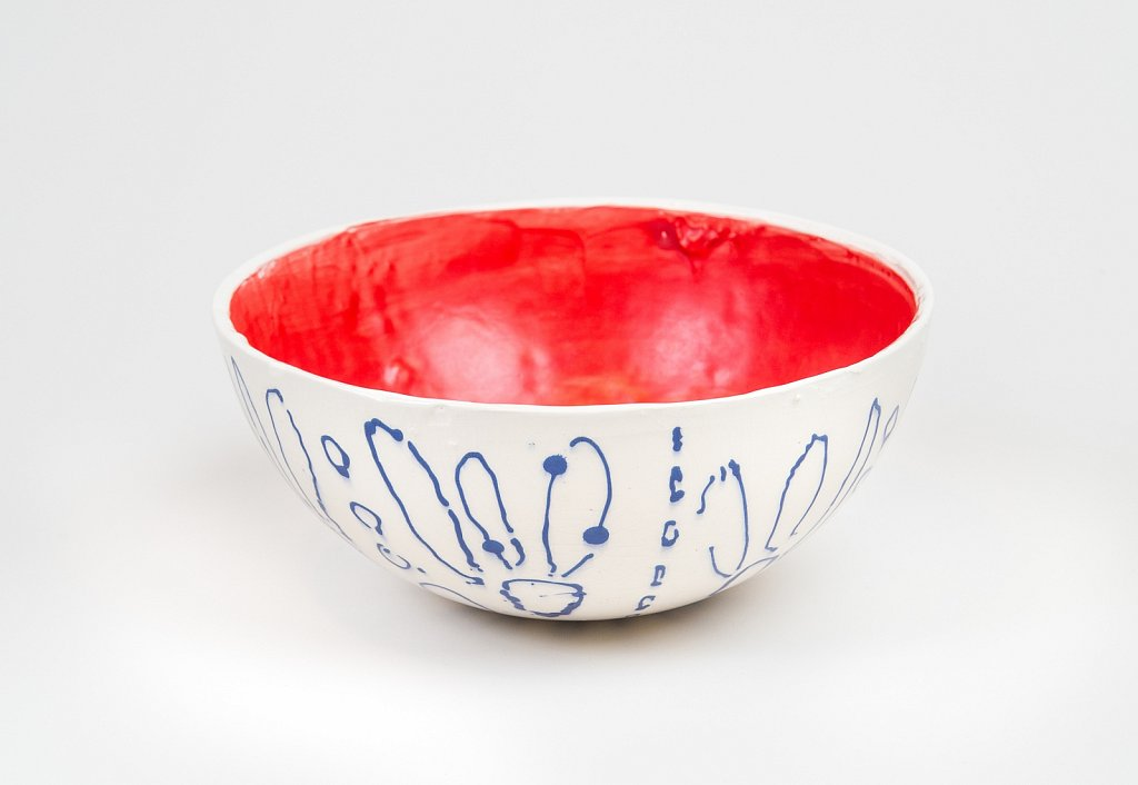 Red, White and Blue Bowl