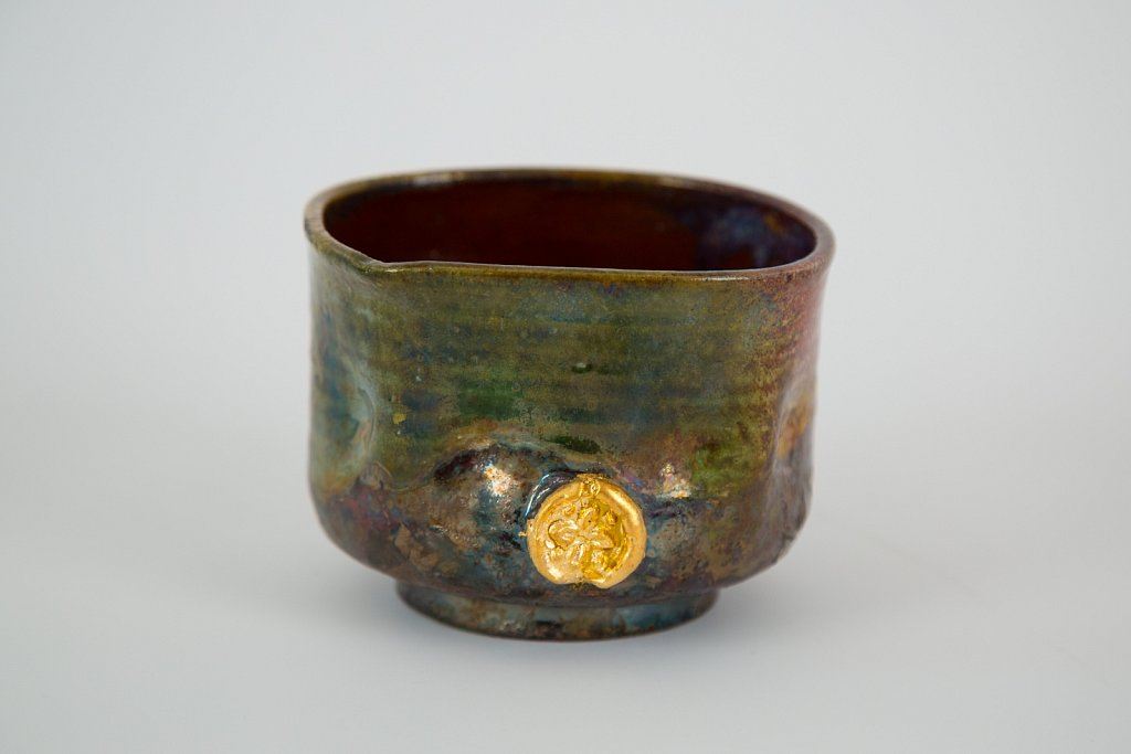 Vessel with Gold