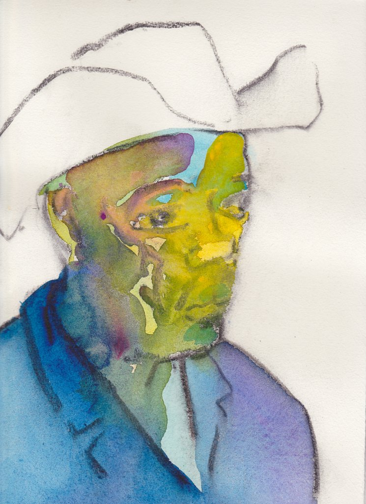 Votive Portrait 3 (Brooklyn Cowboy)