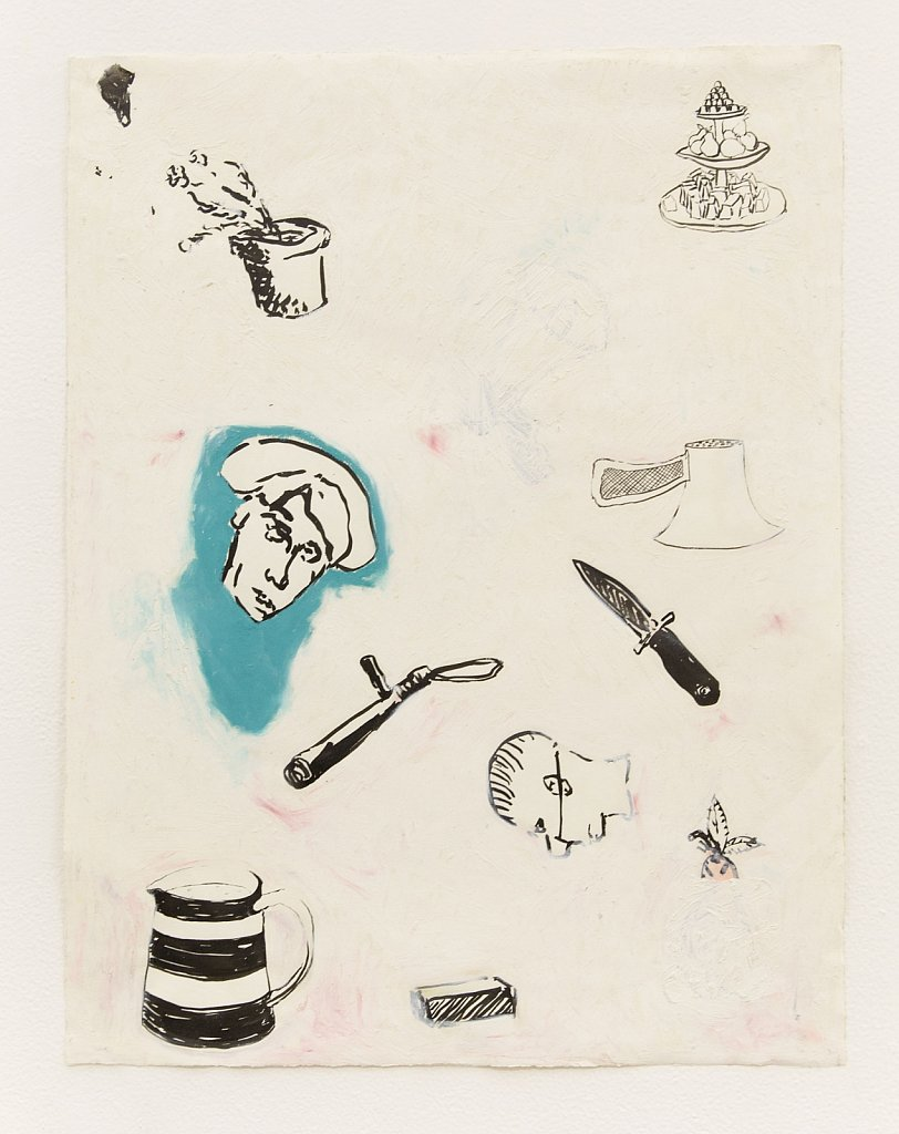 Drawing Inventory: Drawing Inventory: Flower Pots and Riot Sticks